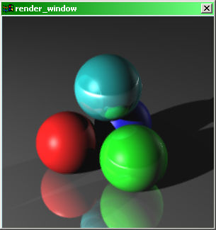 Sample output from Raytracer.dir